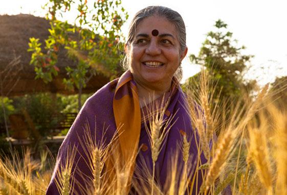 Dr Vandana Shiva Inspires BENIH BALI Program